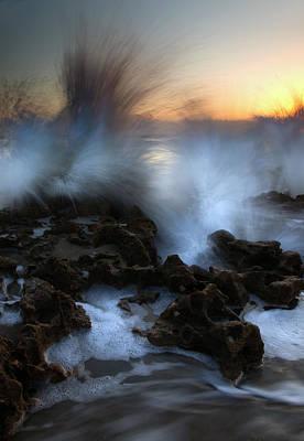 Dawn Explosion Original by Mike  Dawson