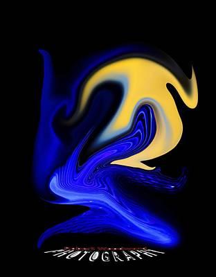 Digital Art - Dawn  Transparency by Robert Woodward