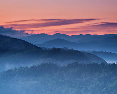 Photograph - Dawn From Foothills Parkway by Michael Blanchette