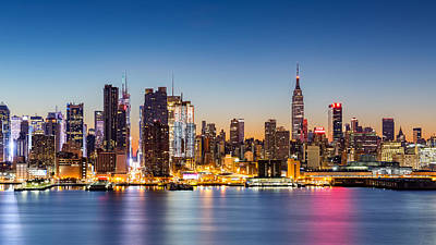 Photograph - Dawn In New York City by Mihai Andritoiu