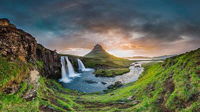 Photograph - Dawn In Paradise by Sigurdur William Brynjarsson