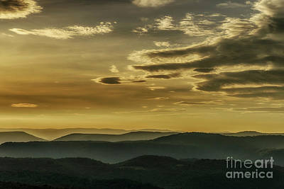 Photograph - Dawn In The Allegheny Mountains by Thomas R Fletcher