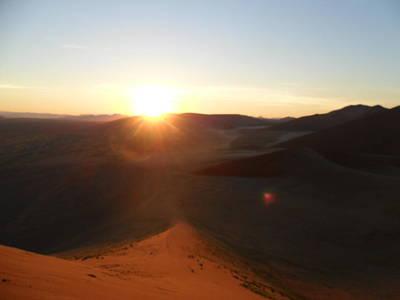 Photograph - Dawn In The Desert by Joe  Burns