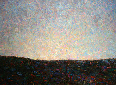 Sky Painting - Dawn by James W Johnson