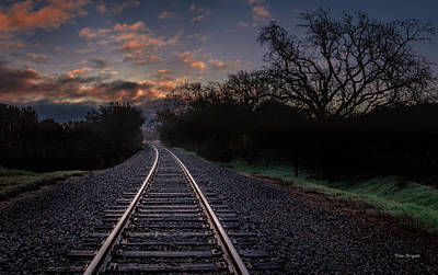 Photograph - Dawn Journey by Tim Bryan