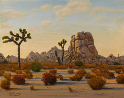 Hiking Painting - Dawn by Mark Junge