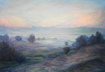 Israel Painting - Dawn by Maya Bukhina