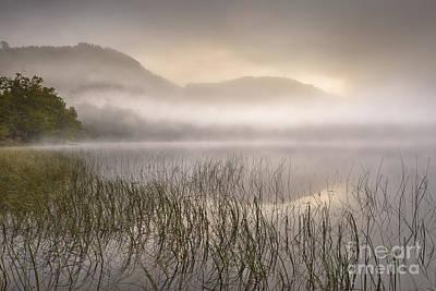 Dawn Mist - Loch Achray 1 Art Print