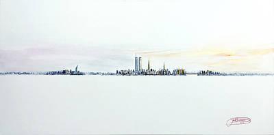 Dawn New York City Art Print