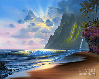 Relax Painting - Dawn Of A New Day by Al Hogue