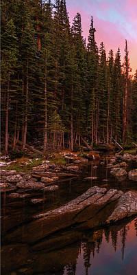 Photograph - Dawn Of Dreams Triptych Left by Dustin LeFevre