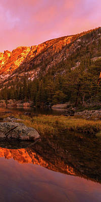 Photograph - Dawn Of Dreams Triptych Right by Dustin LeFevre