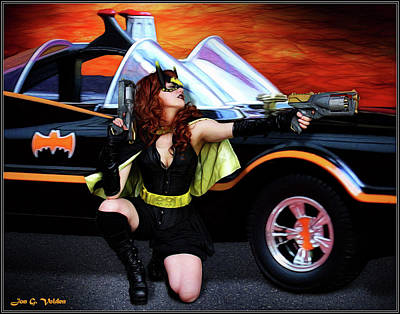 Photograph - Dawn Of The Bat Woman by Jon Volden