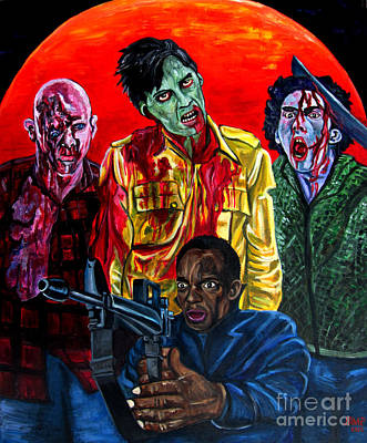 Dawn Of The Dead Painting - Dawn Of The Dead by Jose Mendez