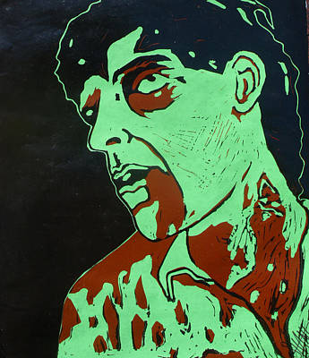 Dawn Of The Dead Painting - Dawn Of The Dead Print 2 by Sam Hane