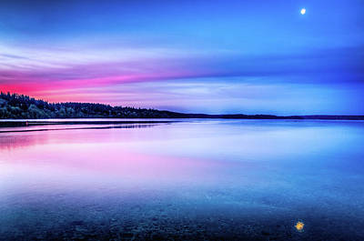 Photograph - Dawn On Bainbridge Island by Spencer McDonald