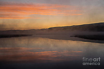 Photograph - Dawn On Flat Creek by Sandra Bronstein