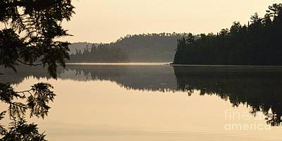 Photograph - Dawn On Ottertrack Lake by Larry Ricker