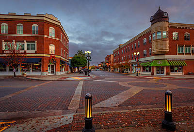 Photograph - Dawn On Park Street by Tim Bryan