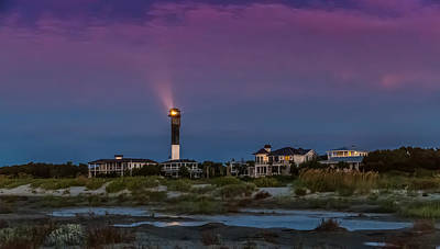 Photograph - Dawn On Sullivan's Island Sc by Donnie Whitaker