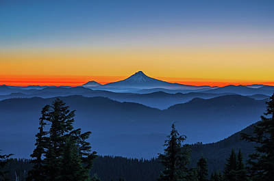 Photograph - Dawn On The Mountain by Ulrich Burkhalter