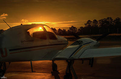 Photograph - Dawn On The Ramp 03 by Philip Rispin