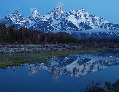 Photograph - Dawn On The Tetons by DeeLon Merritt