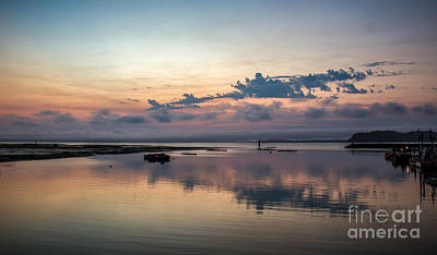 Photograph - Dawn On The Willapa Bay by Robert Bales