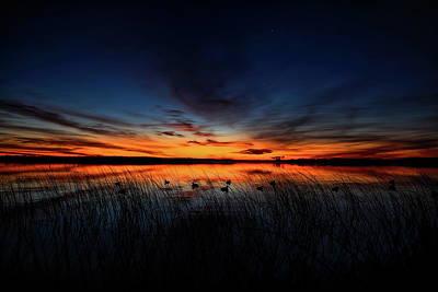 Photograph - Dawn On Thunder Lake by Dale Kauzlaric