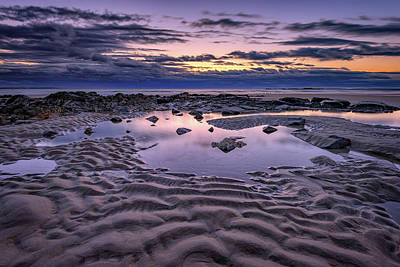 Photograph - Dawn On Wells Beach by Rick Berk