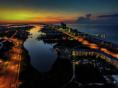 Photograph - Dawn Over Cotton Bayou by Michael Thomas