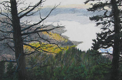 Dawn Over Eagle Nest Lake Art Print by Kenny King