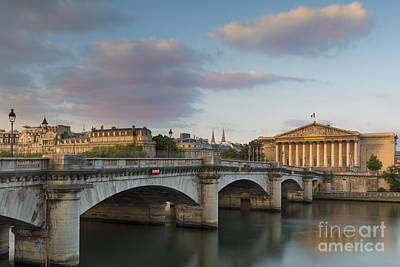 Photograph - Dawn Over Paris by Brian Jannsen