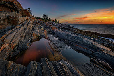 Photograph - Dawn Over Pemaquid Point by Rick Berk