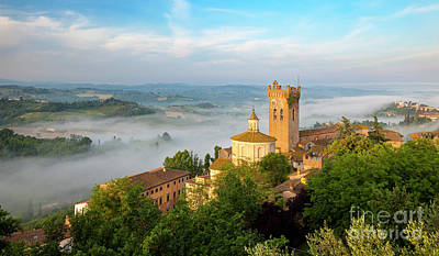 Photograph - Dawn Over San Miniato by Brian Jannsen