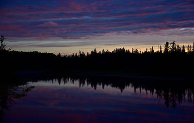 Photograph - Dawn Over The Ausable 5194 by Michael Peychich