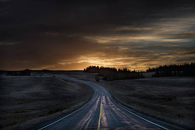 Dawn Over Wyoming 14a Art Print by Steve Gadomski