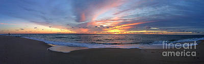 Photograph - Dawn Panorama by Mary Haber