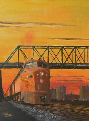 Tramp Steamer Painting - Dawn Patrol by Christopher