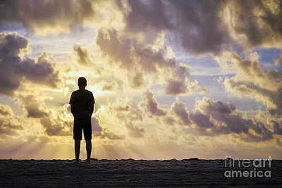 Royalty-Free and Rights-Managed Images - Dawn Patrol by Evelina Kremsdorf