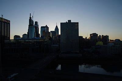Photograph - Dawn - Philadelphia Cityscape by Bill Cannon