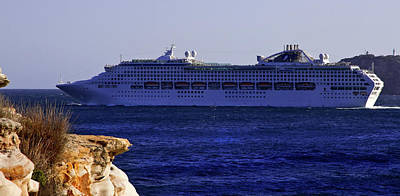 Photograph - Dawn Princess by Miroslava Jurcik