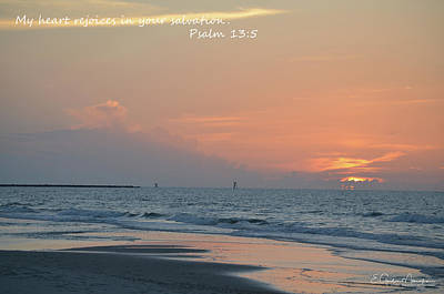 Photograph - Dawn-psalm 13-5 by Gordon Mooneyhan