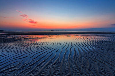 Photograph - Dawn Ripples by Alan Raasch