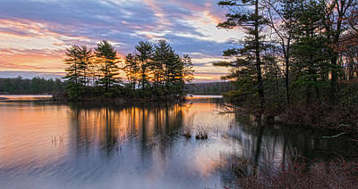 Dawn Serenity At Lake Tiorati Art Print