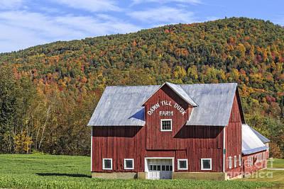 Dawn To Dusk Farm Vermont Art Print by Edward Fielding