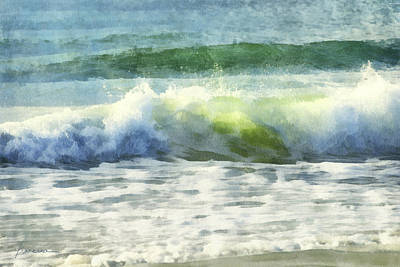 Digital Art - Dawn Wave by Francesa Miller