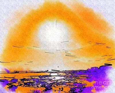 Dawning Art Print by Deborah Selib-Haig DMacq