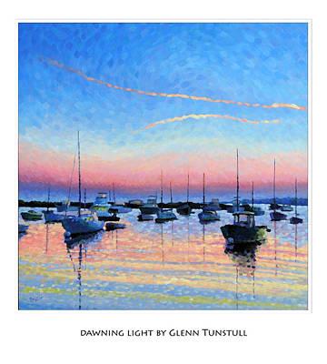 Painting - Dawning Light Poster by Glenn Tunstull