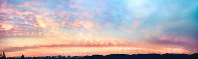 Bishops Peak Photograph - Dawning Of The Mountains by Debi Bishop
